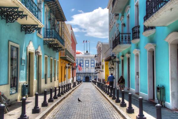 Séjour à San Juan Porto Rico