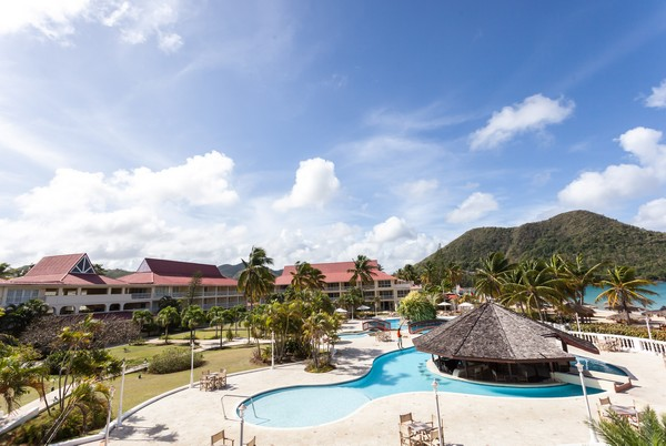 Détail Royal Saint Lucian By Rex Resort